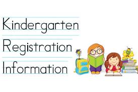 Kindergarten Registration for the 2021 - 2022 school year is now open!