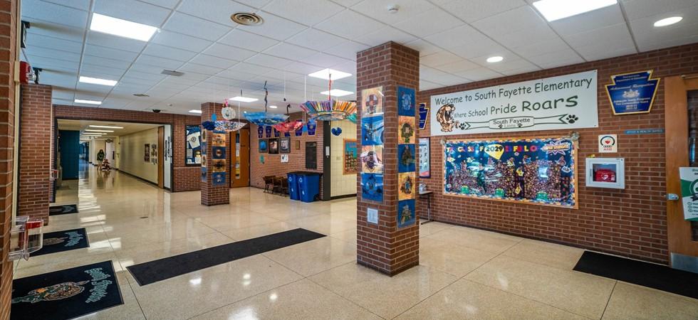 Inside South Fayette Elementary