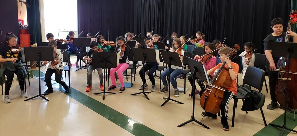 Intermediate School Orchestra