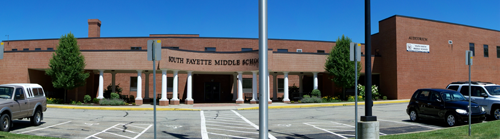 South Fayette Middle School building